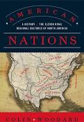 """photo of the book cover for """"American Nations"""" By Colin Woodard"""