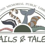 all different tails in a semi circle window designed by Jen Sansosti
