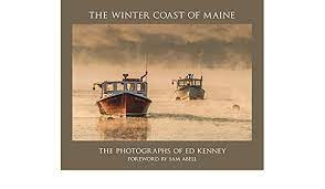 """Picture of book cover """"Winter Coast of Maine Photographs by Ed Kenney"""""""